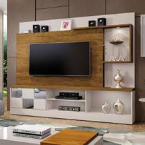 Estante Home Para Tv Dinamarca Com Espelho Plus Off White / Canion - 4745.107 Mavaular -