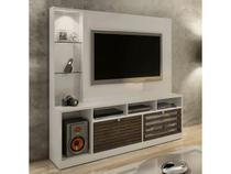 Estante Home para Tv Frisare Off White/Ypê - Chf Móveis - Chf moveis