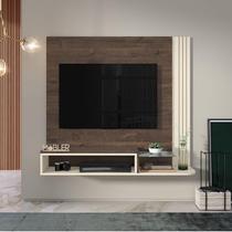 Estante Home Suspenso para TV até 48 Polegadas Londres Belaflex Madero - Off White -