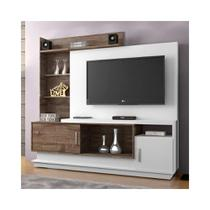 Estante Home Theater Adustina P/TV 130x85 cm - CHF Móveis - Chf moveis