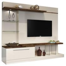 Estante Home Theater Allure Off White Deck - HB Móveis - Hb Moveis