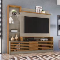 Estante home theater frizz prime para tv até 55 pol. - madetec -