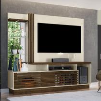 Estante Home Theater Madetec Frizz Plus Off White/Savana