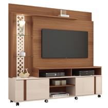 Estante Home Theater Para TV até 55 Pol. Vitral 2 Portas - HB Móveis -