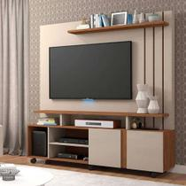 Estante Home Theater Valencia Off White/Savana - Permobili