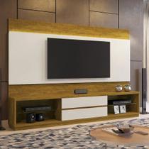 Estante Home Theather p/ TV até 65 Polegadas Istambul - Mavaular Mel/Off White - Mavaular moveis