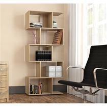Estante Livreiro com 5 Nichos Office Plus Appunto - Castanho -