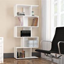 Estante Livreiro Office Plus com 5 Nichos - Branco - Appunto