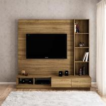 Estante Lux para TV 65 polegadas 2 gavetas 2 nichos Argel - Politorno