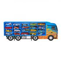 Estante Painel 20 Carrinhos, Mdf, Hot Wheels Junges  Junges Brinquedos -