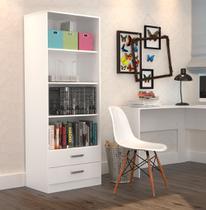 Estante para Escritório com Gavetas Office Plus Appunto - Branco -