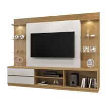 Estante para Home Theater Babilonia Damasco e Off White - Mavaular