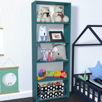 Estante para Livros 4 Prateleiras Ronda Baby Bramov Móveis Agata -