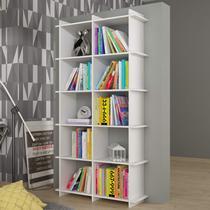 Estante para Livros BX 0106 Encaixe Moderno BRV Móveis Branco -