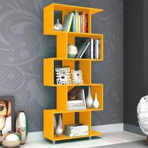 Estante para Livros Esm 209 Amarelo - Móvel Bento -