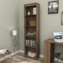 Estante para Livros Modular Biblioteca Zatto Slim Imbuia da Haus -