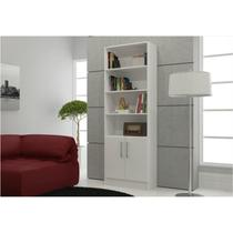 Estante para Sala ou Home Office com 02 Portas BL 03 - BRV