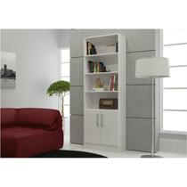 Estante para Sala ou Home Office com 02 Portas BL 03 - BRV -