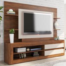 Estante Para Tv Até 43 Polegadas Home Tabu Cedro/off White - Viero Móveis -