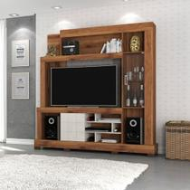 Estante para TV até 50 polegadas Cristal com Porta de Vidro DJ Móveis -