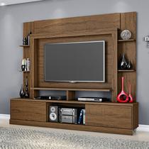 Estante para TV e Home Theater 2 Portas Miami Belaflex Carvalho Munique -