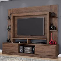 Estante Para Tv E Home Theater Com 2 Portas Miami Belaflex Malte - Belaflex mubler