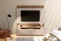 Estante para TV Immense 180 cm 3 Gavetas Off White Noce - Casa d
