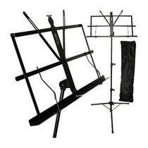 Estante Partitura Pedestal Retrátil Dobrável Saty 5025 -