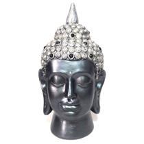 Estátua Cabeça de Buda Hindu (22cm) - Relaxar e meditar