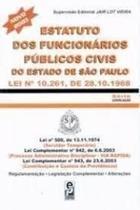 Estatuto Dos Funcionários Públicos Civis Do Estado São Paulo - Edipro -