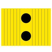 Esteira Bandeja Flexivel c/ Porta Copos 4mm - Amarela - Encaixo