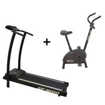Esteira Ergométrica Ep-1600 e Bicicleta Ergométrica Bp-880 Polimet - Poli Sports