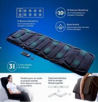 Esteira massageadora massage mat bivolt - relaxmedic -