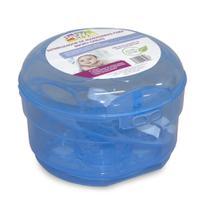 Esterilizador De Mamadeiras Para Microondas - Baby Style Cor:Azul -
