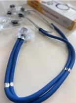 Estetoscópio Rappaport Premium Azul Imediato - G- Tech