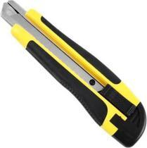Estilete 18 mm. Emborrachado com Trava 10 Lâminas Hammer -