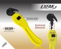 Estilete de Segurança Ergonomico Exfak 15-010ATA -