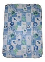 Estofado Capa Banheira Millenia Modelo Novo Burigotto Peixinho Azul -