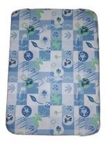 Estofado Trocador Da Banheira Millenia Peixe Azul Burigotto -