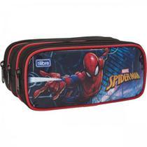 Estojo 3 Divisorias Spider-Man Grande - Tilibra -