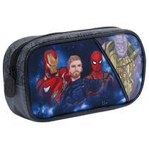 Estojo Avengers Doomed Os Vingadores Original Simples Preto - Xeryus