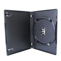 Estojo Capa Box Preto P/ CD DVD Nocodisc 10 Unidades - Amaray