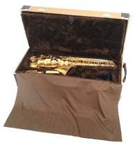 Estojo Case Para Sax Alto Com Compartimento Golden - Fama