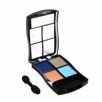 Estojo Com 4 Cores Básico Make Up Maquiagem Fenzza C1 -