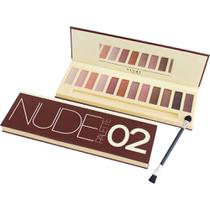 Estojo de maquiagem Nude Palette Vivai 02 - 12 Cores -