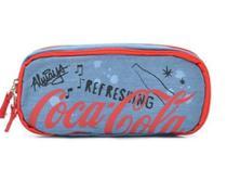 Estojo duplo coca cola doodles jeans u - 7119014079u - Pacific