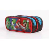Estojo Escolar Duplo Super Mario 11533 Dmw -
