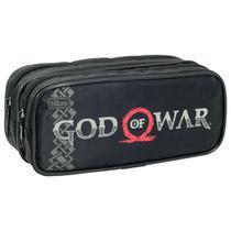 Estojo Escolar God Of War Duplo 131784  Tilibra - Tendtudo