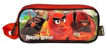 Estojo Escolar Poliéster Angry Birds ABE800401 - Santino -