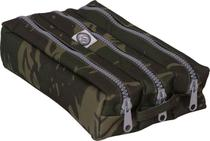Estojo Escolar Triplo Adventure Camuflado Cod025 School Fashion